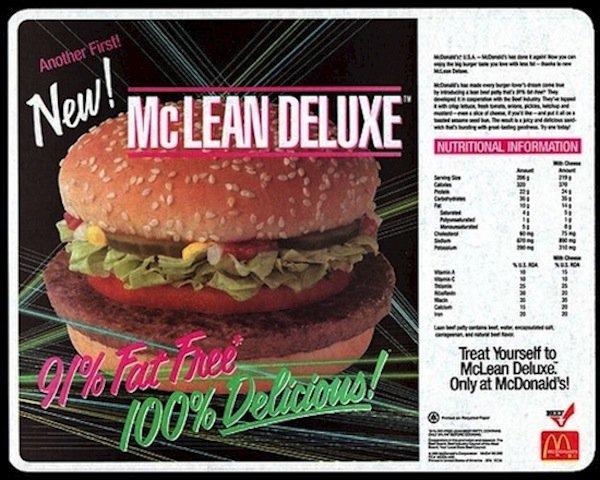 mcdonalds=lean