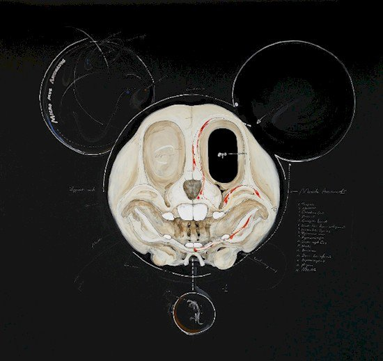 mickey mouse insides