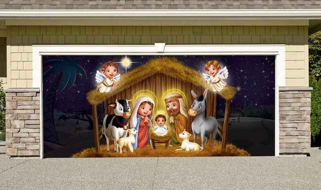 nativity garage