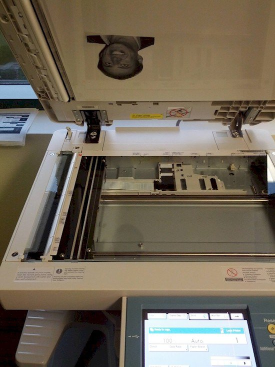 nick cage photocopier