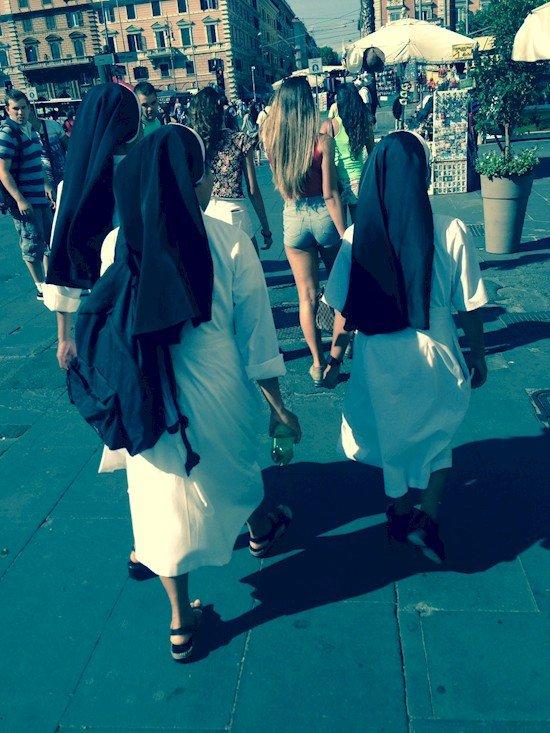 nuns girl