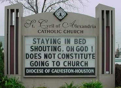 15 Attention Grabbing Church Signs That You Don't See Everyday