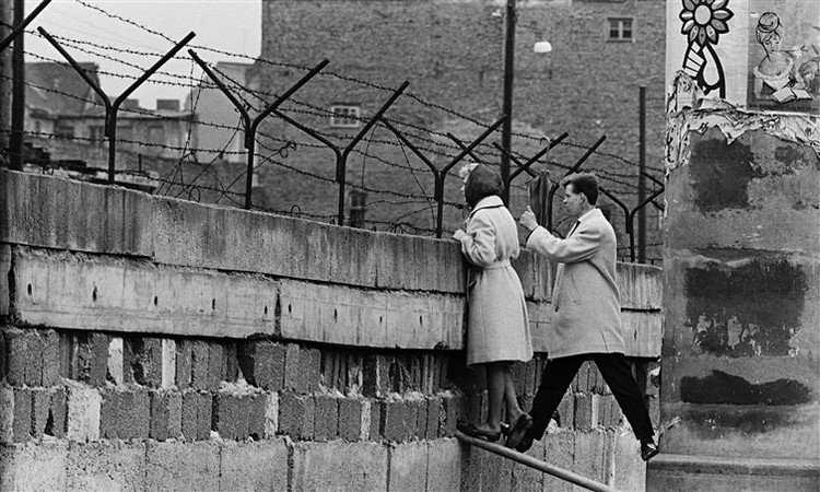 people berlin wall