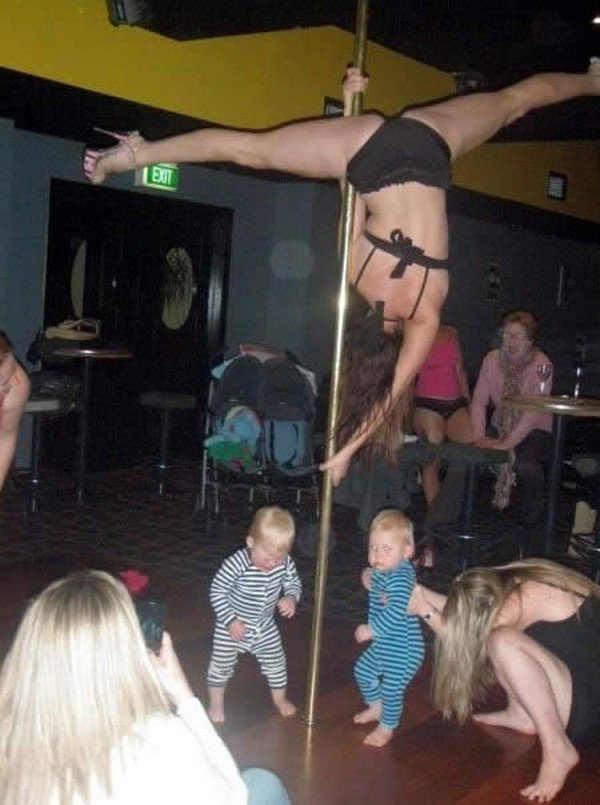 poledancer babies