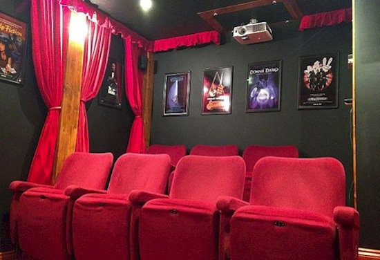 This Amazing Diy Home Theater Is Disguised As A Regular Tool Shed