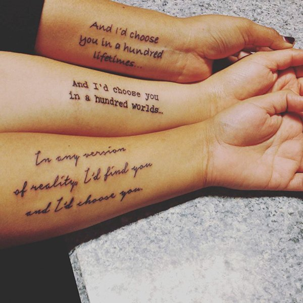 13 Awesome Tattoo Ideas For Sisters