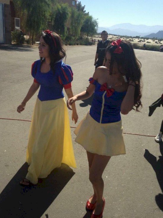 snow white girls