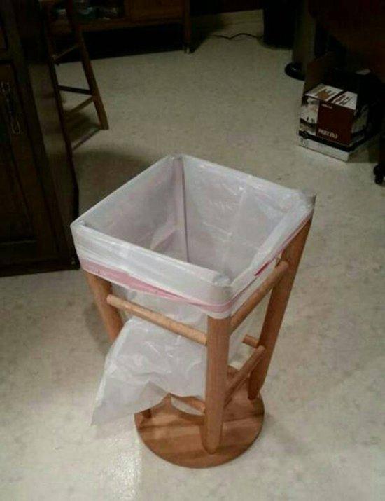 stool bin