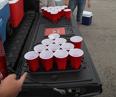 tailgate beer pong kit