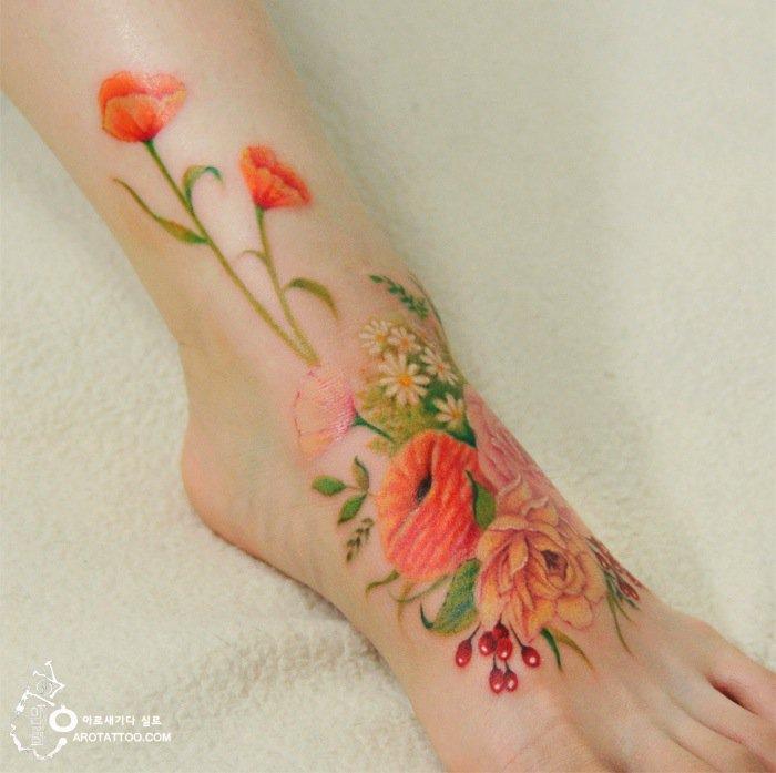 tatt-foot