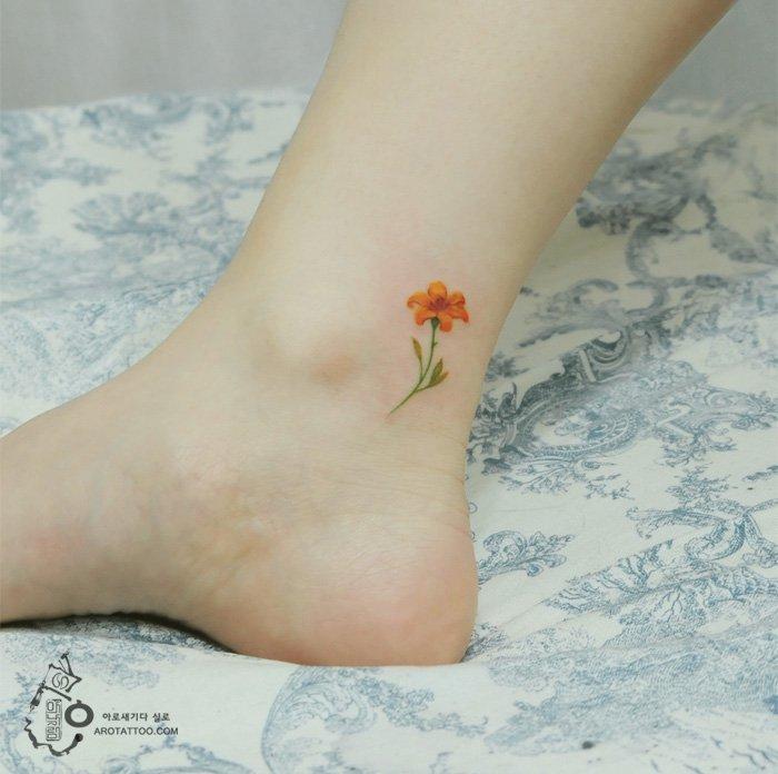 tatt-orange-flower