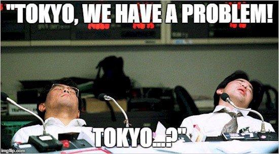 tokyo sleeping