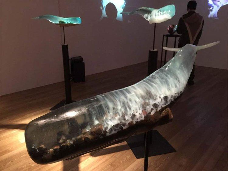 translucent-whale-sculptures-isana-yamada-rocks