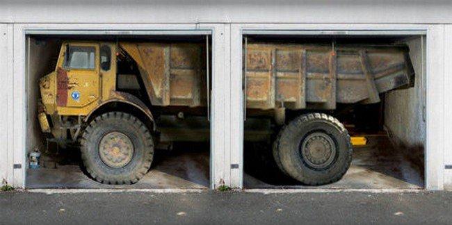 truck garage