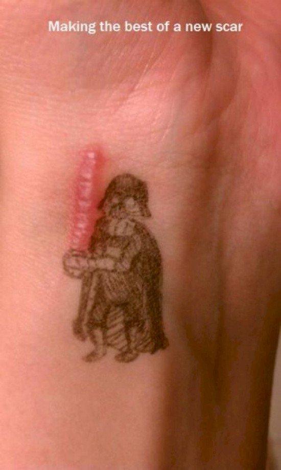 vader scar