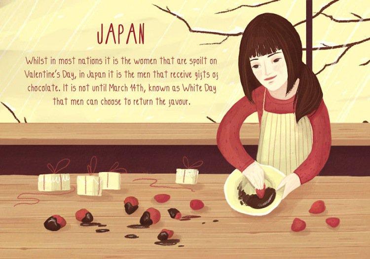 valentine-japan
