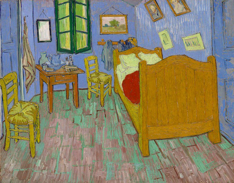 van gogh bedroom painting