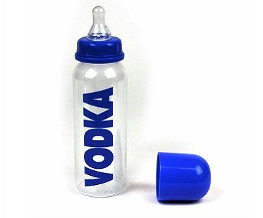 vodka baby bottle