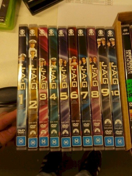 wonky numbered dvds