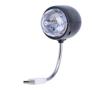 2-In-1 Disco And Reading Light USB