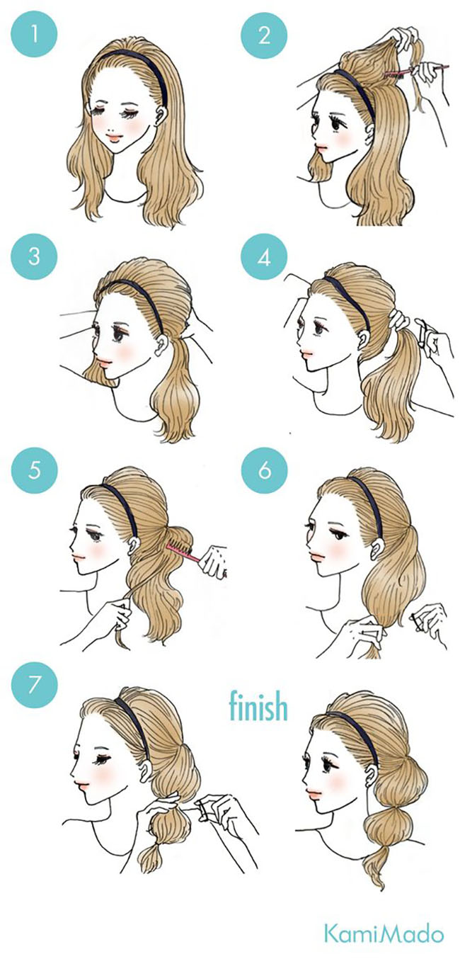 11 Easy And Cute Hairstyles That Can Be Done In Just A Few Minutes