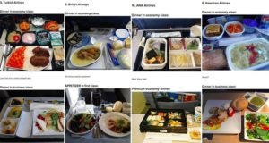 Airplane Food Economy First Class