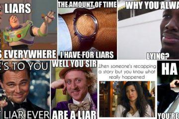 Amusing Images Lying Liars Memes