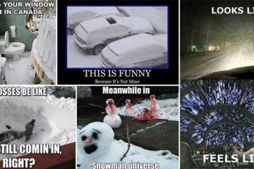 Amusing Snow Memes Images
