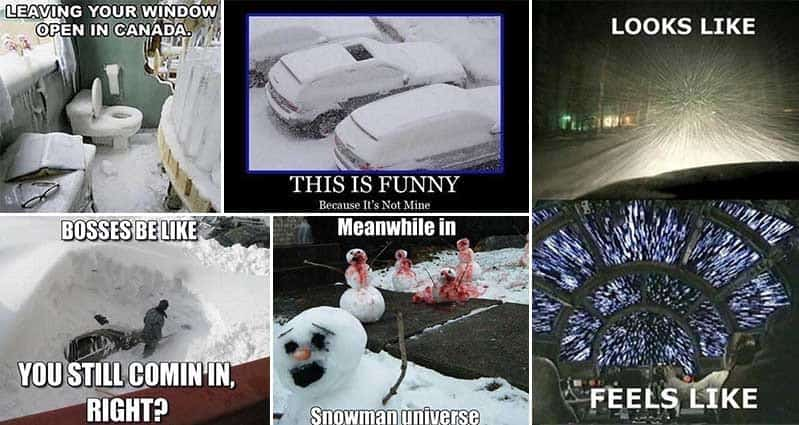 17 Amusing Images For Those Who Love Snow