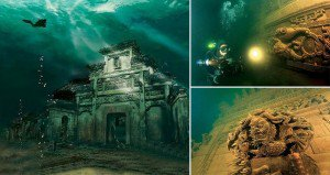 Atlantis Of The East Underwater City China