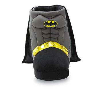 Batman Slipper Boot With Cape toddler