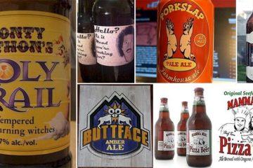 Beer Brands Hilarious Names