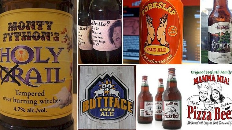 Beer Brands Hilarious Names