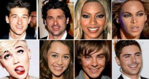 Before After Celebrity Nose Jobs