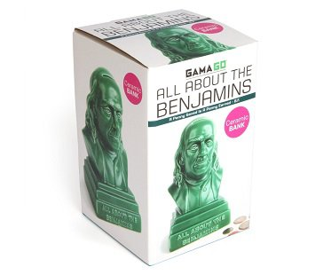 Benjamin Franklin Money Bank box