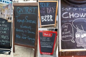 Bizarre Soup Of The Day Signs
