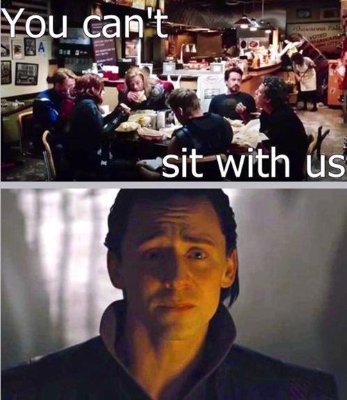 Cant Sit With Us