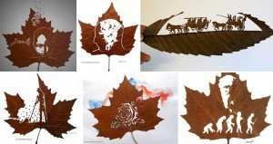 Carvings Leaves Omid Asadi