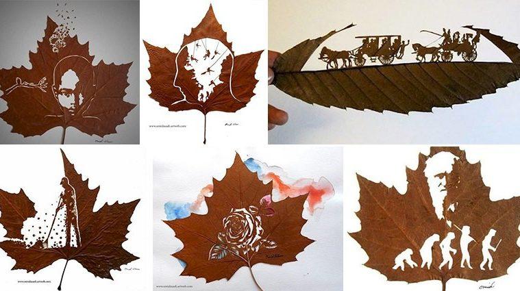Carvings Leaves Omid Asadi