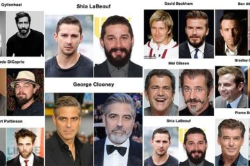 Celebrities Prove Difference Beard