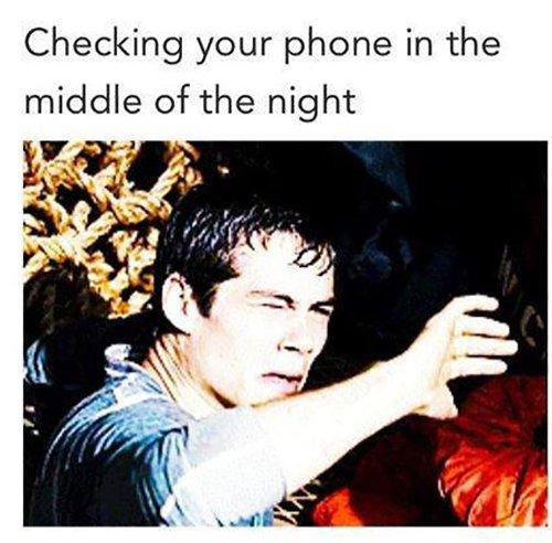 Check Phone At Night