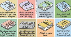 Classic Books Summed Up Few Words