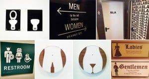 Coolest Craziest Bathroom Signs