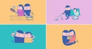 Everyday Ways Couples Get Closer