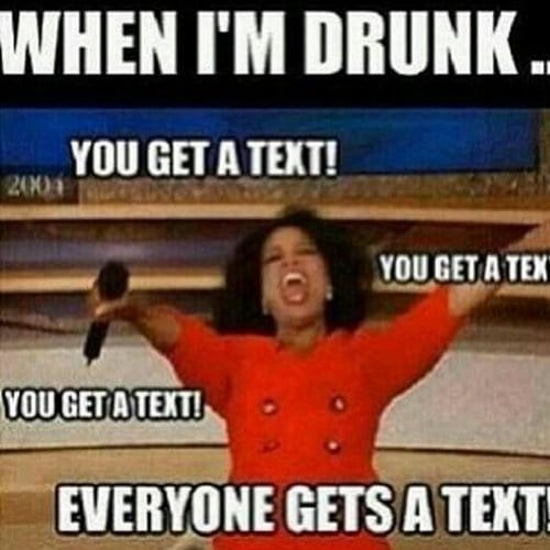 Everyone Gets A Text