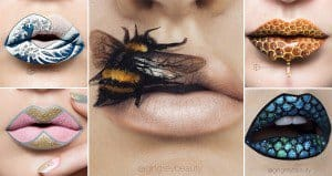 Examples Lip Art Andrea Reed