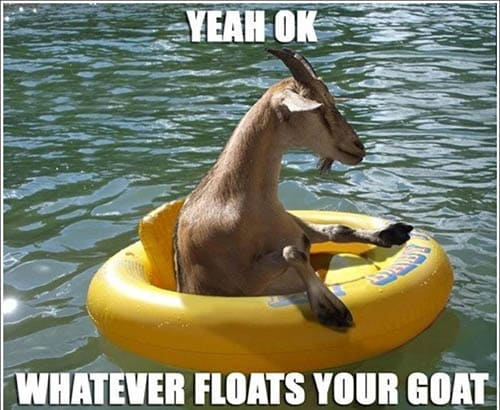Floats Your Goat