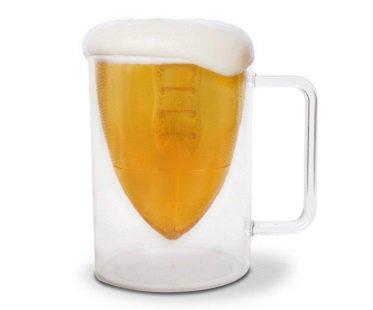Football Beer Mug glass