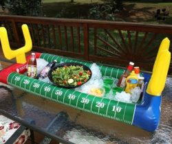 Football Stadium Inflatable Salad Bar cold