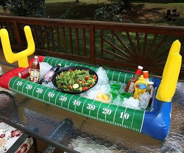 Football Stadium Inflatable Salad Bar cold